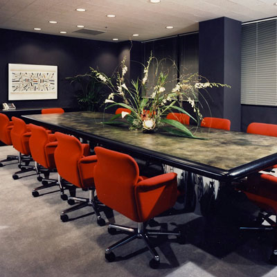 Corporate Office Design - Executive Conference Room