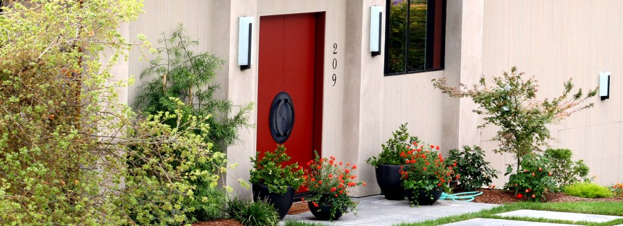 Designer Dream Home - Front Door Entry