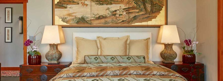 Kimono fabric duvet cover