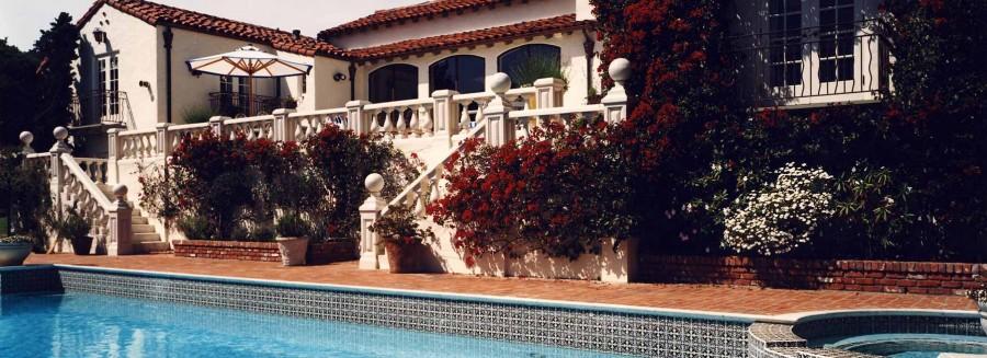 Mediterranean Villa - Pool
