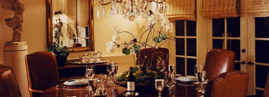 Mediterranean Villa - Dining Room