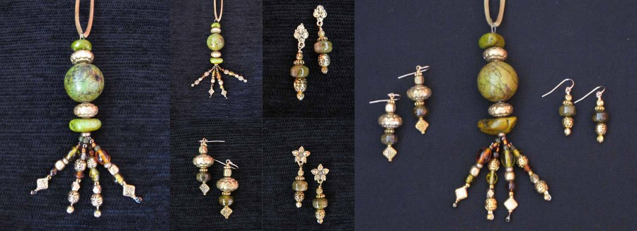 Kay Heizman Jewelry - The Green/Gold/Multi Group