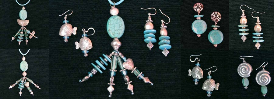 Kay Heizman Jewelry - The Turquoise/Silver Group